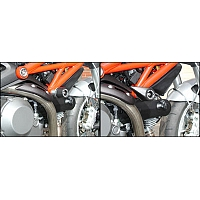 Crash Pads Ducati Monster 1100 2009 Bike Design