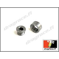 Air/Fuel Sensor Bung and Plug - Stainless Steel